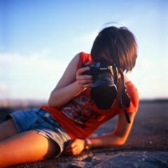 professional* (g o r t (crazily busy)) Tags: rolleiflex pentax sophie velvia epson fujifilm sunsetbeach okinawa 100f 28a zeissopton fujifilmvelvia100f epsongtx970 gtx970 rolleiflex28azeissopton