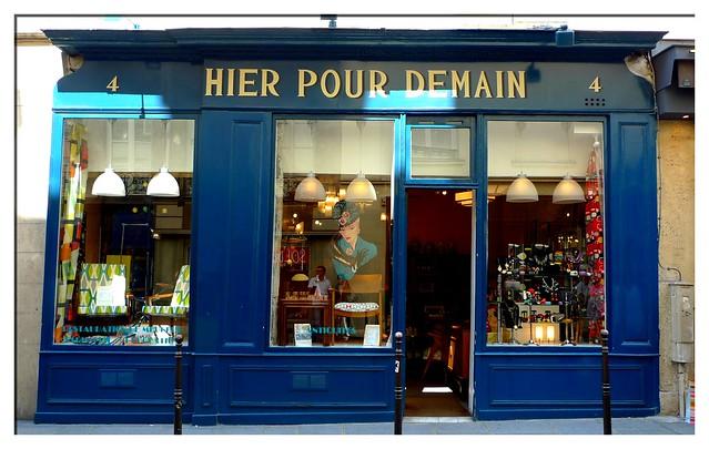 Paris- street hier pour demain