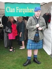 Jordan at Clan Farquharson