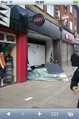 HMV Shop Damage by mcgillianaire