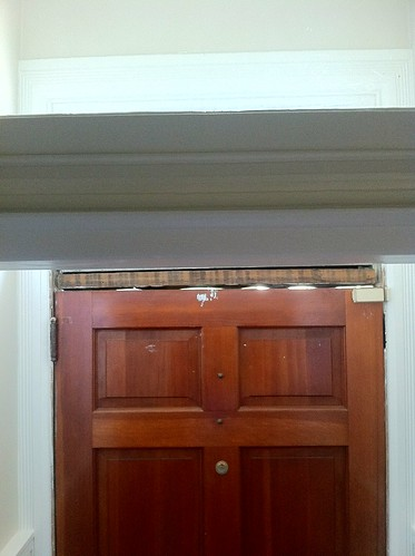 Old Door Weatherstripping Dress It Up With Spring Bronze