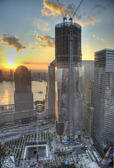 One World Trade (Tony Shi Photos) Tags: world nyc ny building tower freedom memorial downtown manhattan 911 ground center 11 september wtc lower trade zero hdr rebuild nationa