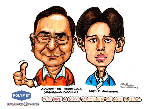 Caricatures for Polymet - 11