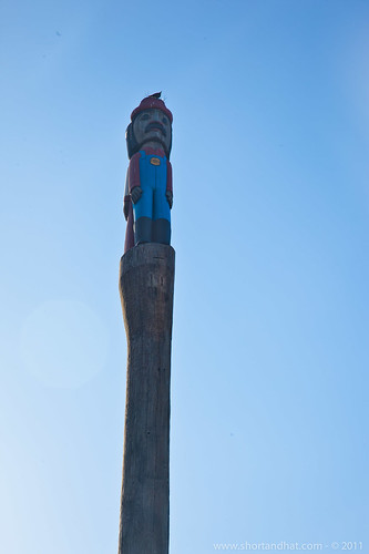 Pike Place Mario Totem Pole