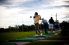 Pondok Indah Golf Driving Range The Perfect Pose Difei li Tags Golf li Nikon Driving Golfing Range D300