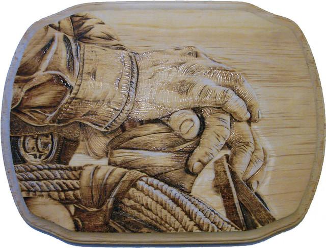 Pyrography (woodburning) Art from Edmonton, Alberta, Canada - Part 4