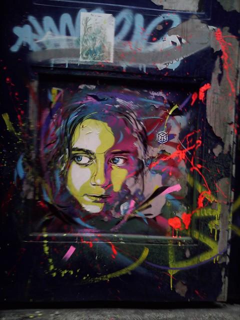 C215 London Street Art