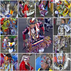 Pow Wow Mosaic (misst.shs) Tags: nikon powwow nativeamerican arleemontana dancing regalia colorful costumes culture saleeshtribes