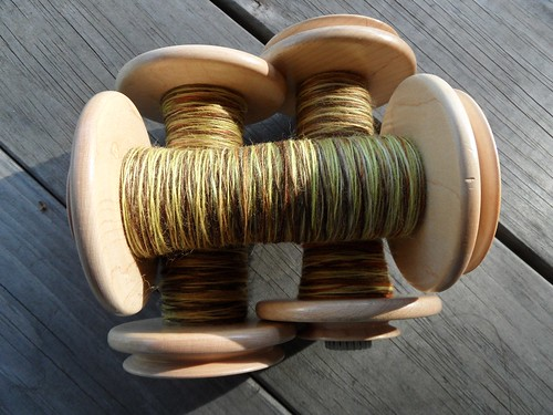 TdF-day 2- 4oz Falkland-My Secret for 3-ply