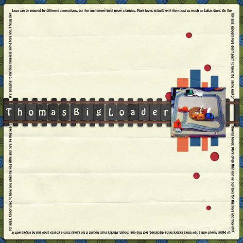 Thomas Big Loader