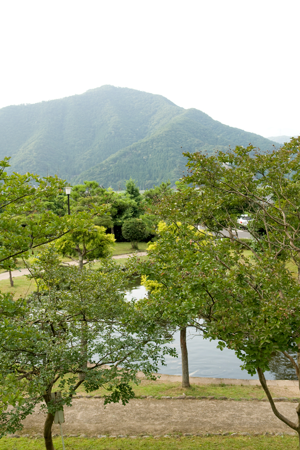池のある景色|福井県若狭町