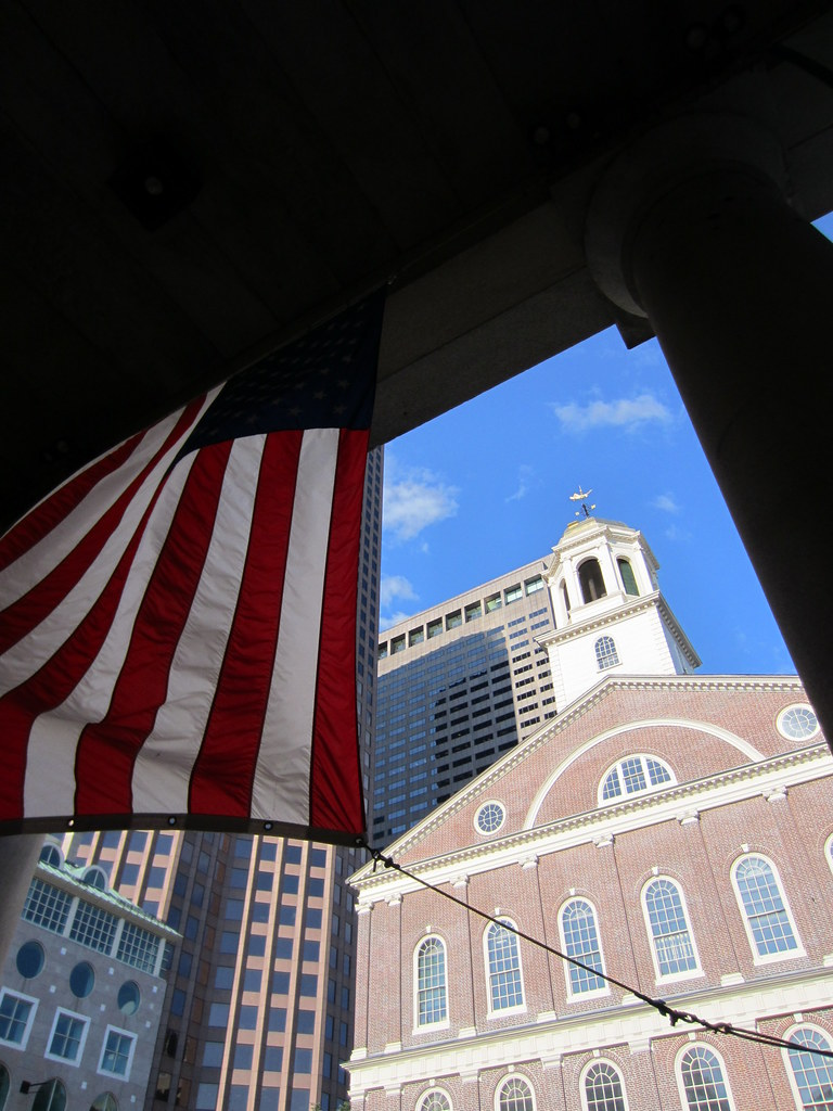 Faneuil Hall Flag