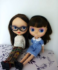 Dressed by Rosie and Maggie..