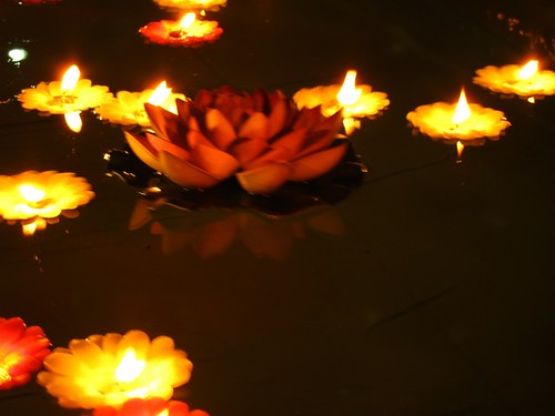 Loi Krathong in Shanghai, 2010