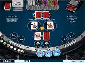 21 Duel Blackjack Single Player game
