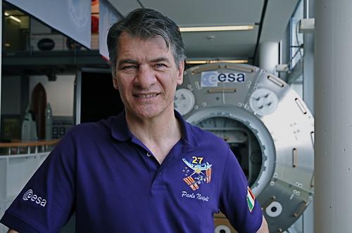 ESA-Astronaut Paolo Nespoli