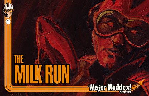 The Milk Run final cover art by Manly Art