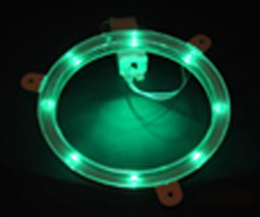 Green Cornhole Light