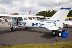 G-BOIY - CESSNA 172N  - 110702 - Waddington - Alan Gray - IMG_0314