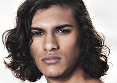 James headshot (Anthony Byron - BuDWiZeR) Tags: portrait male intense model eyes headshot steely