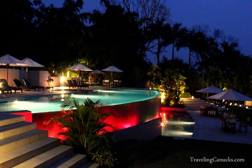 Infinity Pool at Chaa Creek, Belize