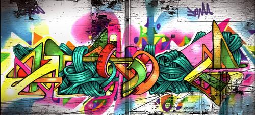 sketchwall by eL hue V