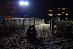 Three Years. (becca cahan) Tags: life nightphotography light love tom 35mm nikon shadows bright silhouettes glowing seacolony d80 beccacc beccacahan