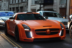 FAB Design Mercedes SLS AMG (F14BigAl) Tags: fab london cars mercedes design arab sls amg supercars gullstream