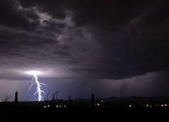 Lightning (Angella's Photography) Tags: arizona clouds photography la nikon tucson lightning storms angella d7000