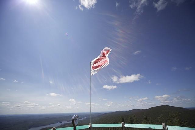 Scènes atop Mont-Tremblant