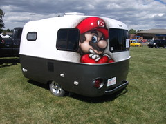 Boler trailer with Mario theme (dave_7) Tags: mario canadian theme trailer boler