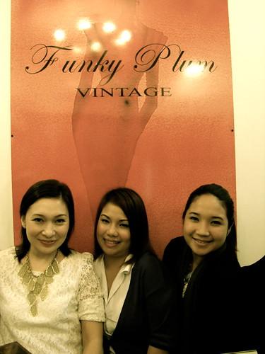 funky plum vintage