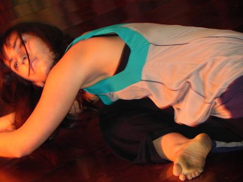 Ana Luiza em performance by Silvana Abreu