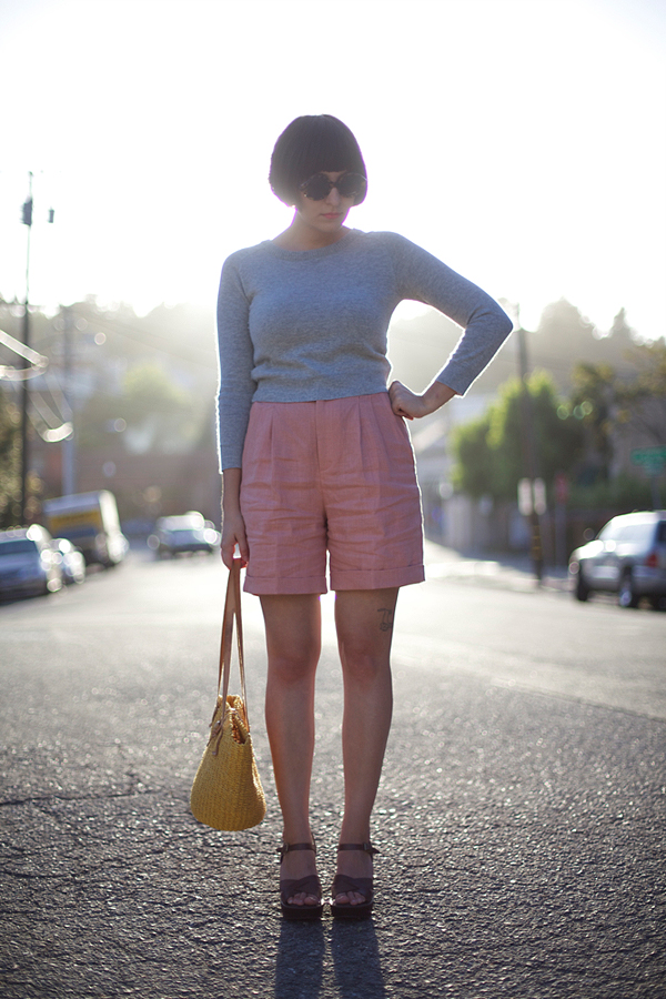calivintage: tourist shorts