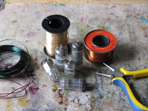 Steampunk Vacuum Tube Charm 001