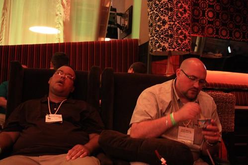 Shhh! George is sleeping!