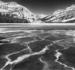 Tenaya Lake Patterns - Yosemite (Steve Sieren Photography) Tags: snow ice patterns yosemite tenayalake highcountry highelevation