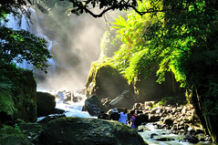 (Vincent_Ting) Tags: morning sky nature water forest waterfall nikon rocks stream taiwan taipei rays   milky  silky