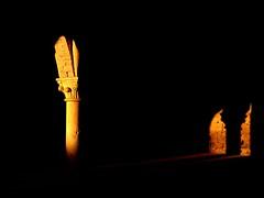 quello che non c' (capellincolti) Tags: light black church dark dawn spot mauri controluce abbazia sangalgano d5100