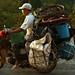 E possivel transportar qualquer coisa em uma moto