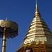 Pagoda revestida de ouro