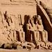 Templo de Abu Simbel, nossa ultima imagem do Egito