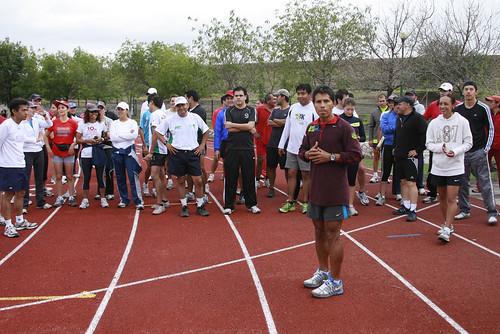Entrenamiento German Silva Maraton de Queretaro