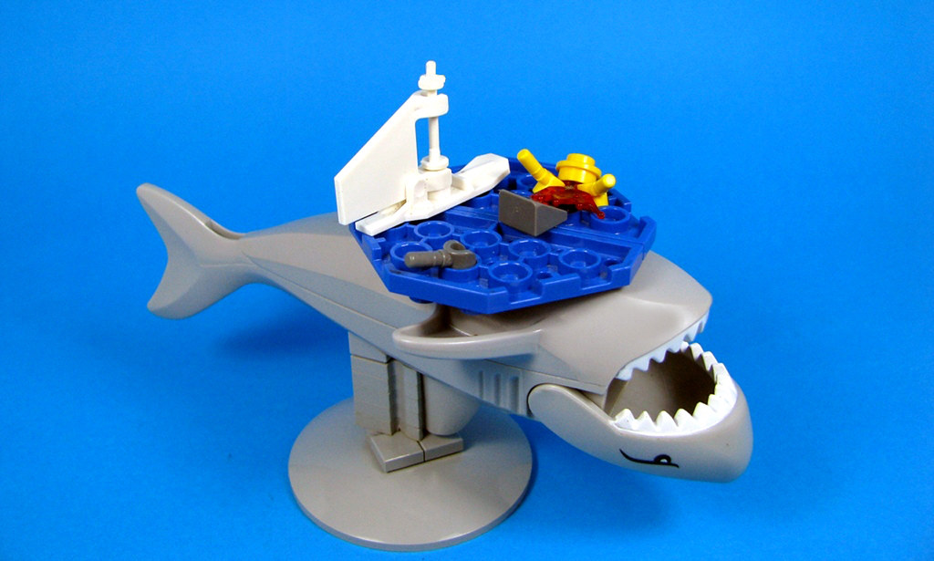 shark attack game instructions