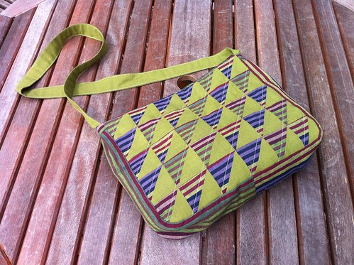 patchwork bag, back