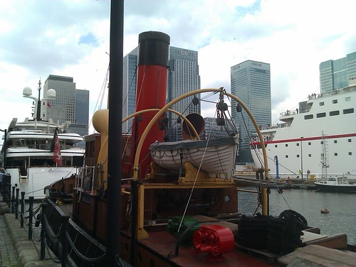 Portwey steam tugboat