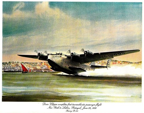 Boeing 314 Clipper by John T. McCoy