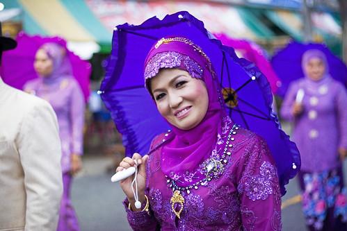 Muslim smile