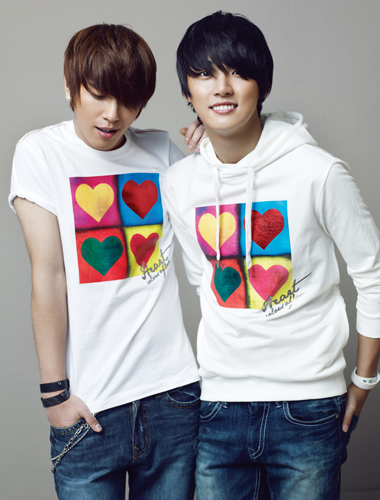 Jung Yong Hwa and Yoon Si Yoon for NII Spring 2010 Ad Campaign