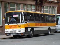 Shuttle Buses - B208 FFS (MSE062) Tags: bus buses fife glasgow tiger scottish shuttle tc alexander leyland ffs b208